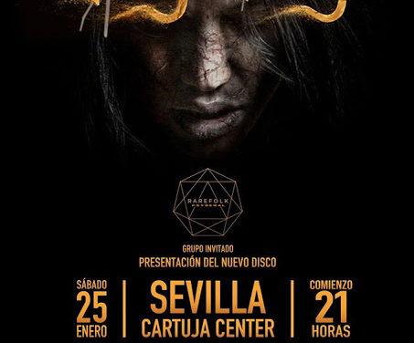 Mägo de Oz dará un concierto en Sevilla el 25 de enero
