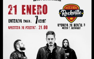 SONS OF MORPHEUS actuará en Madrid el 21 de enero