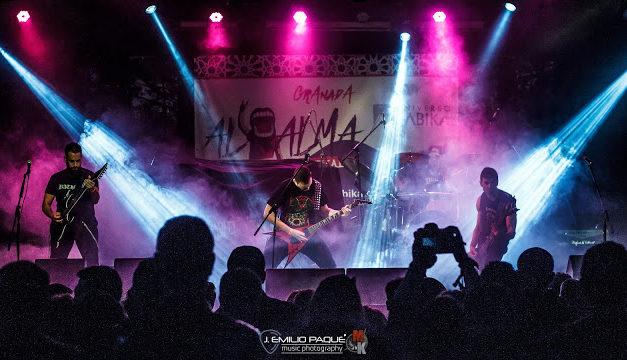 Crónica: HAMLET lidera un exitoso Al-Alma Music Fest (29-11-2019, Granada)