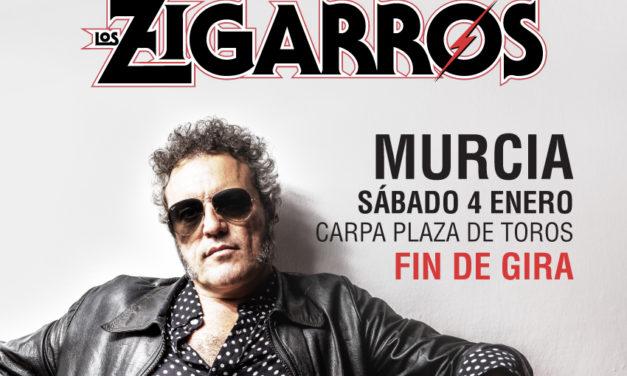 TARQUE cerrará su gira en Murcia junto a LOS ZIGARROS