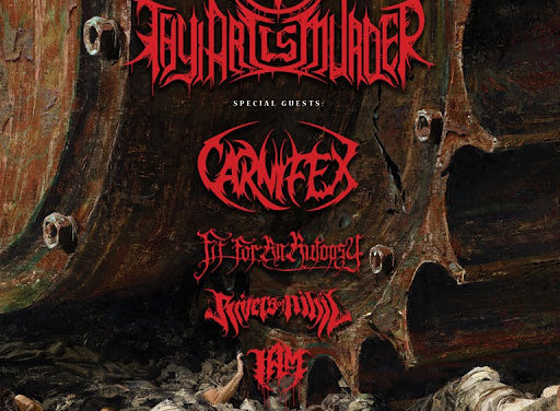 RIVERS OF NIHIL se unen a la gira de THY ART IS MURDER