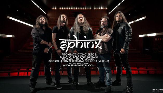 SPHINX presenta nuevo vídeo y fechas para la gira de reunión