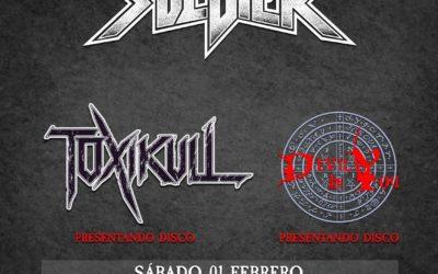 SOLDIER encabezará la fiesta presentación del Palacio Metal Fest