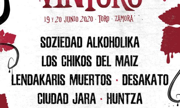 Primeras bandas de la IV edición del FESTIVAL VINTORO