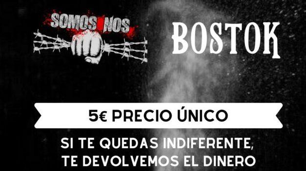 BOSTOK + SOMOS NOS actuarán en A Coruña el 31 de enero