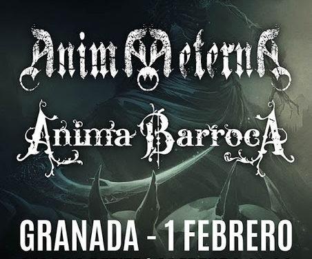 REINO DE HADES, ANIMA BARROCA y ANIMA AETERNA estarán el 1 de febrero en Granada
