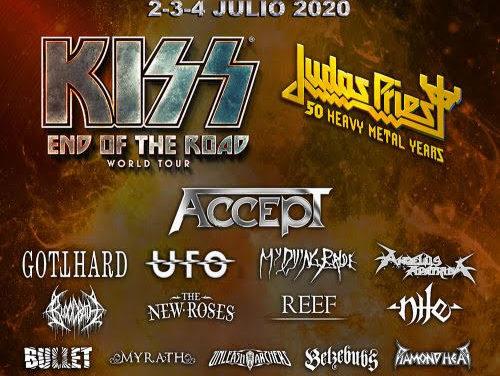 KISS se despedirán a lo grande en Rock Fest 2020