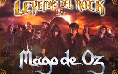 MÄGO DE OZ confirma su presencia en LEYENDAS DEL ROCK y en más ciudades