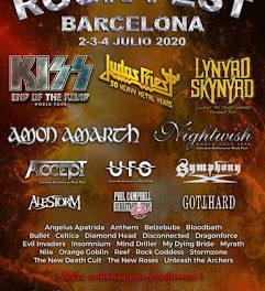 Siete nuevas bandas confirmadas para ROCK FEST 2020