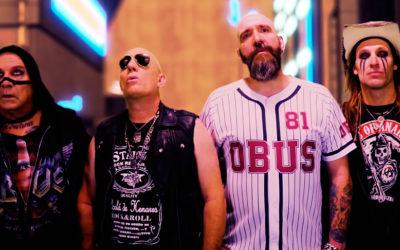 OBÚS estrena nuevo videoclip: «Sangre de rock 'n roll»