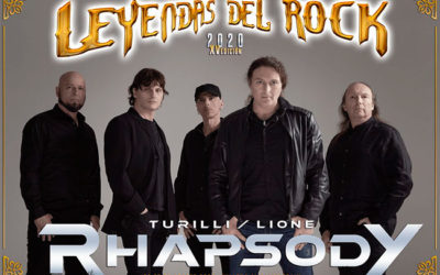 LEYENDAS DEL ROCK anuncia a Turilli y Lione (Rhapsody) y pone entradas físicas a la venta