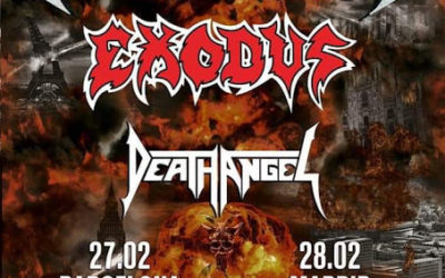 TESTAMENT, EXODUS y DEATH ANGEL estarán juntos en Madrid y Barcelona