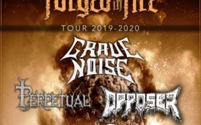 El tour FORGED IN FIRE llegará a Burgos el 8 de febrero