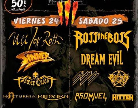 Publicada la distribución por días del Galia Metal Fest 2020