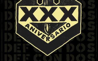 DEF CON DOS actuará el 13 de marzo en Madrid