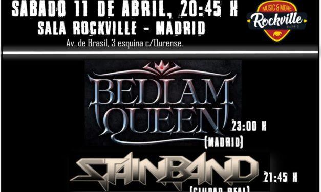 Queen Metal Night reunirá a BEDLAM QUEEN, STAINBAND y MY DISORDER