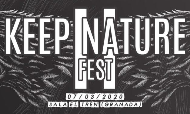 Completado el cartel del KEEP NATURE FEST II en Granada
