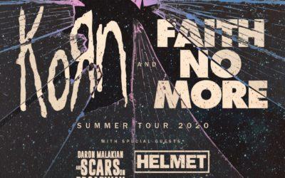 KORN y FAITH NO MORE girarán juntos por EEUU en verano