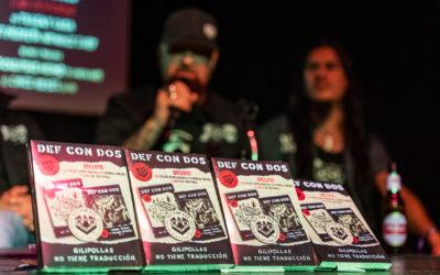 """Rueda de prensa: DEF CON DOS presenta """"Gilipollas no tiene traducción"""" en Madrid"""