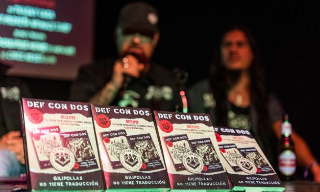 Rueda de prensa: DEF CON DOS presenta «Gilipollas no tiene traducción» en Madrid