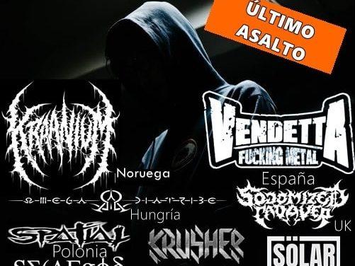 EXTREME CORE FEST IV tendrá lugar este 15 de febrero en Murcia