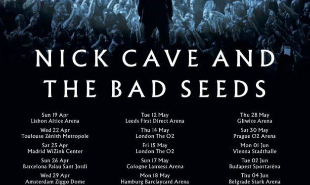 NICK CAVE AND THE BAD SEEDS visitarán nuestro país la próxima primavera
