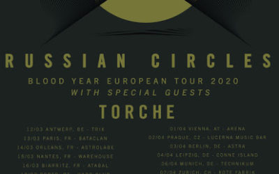 RUSSIAN CIRCLES y TORCHE girarán por España el próximo mes de marzo