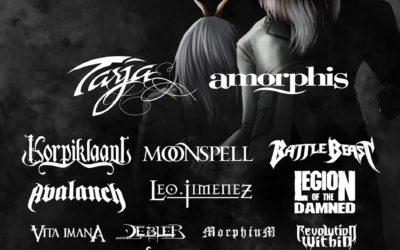 Z! LIVE ROCK FEST cierra su cartel con TARJA como cabeza de cartel