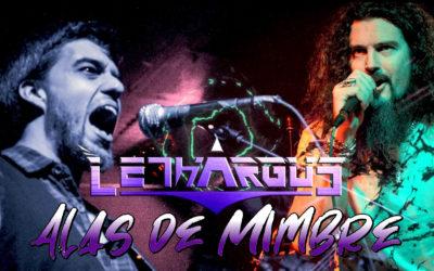 """LETHARGUS estrena el lyric video de """"Alas de mimbre"""""""