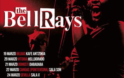 THE BELLRAYS vuelven a España en el mes de marzo con una gira de nueve fechas