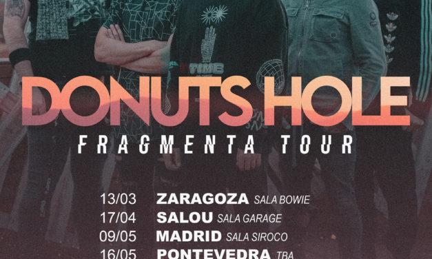 DONUTS HOLE desvela las primeras fechas de su «Fragmenta Tour»