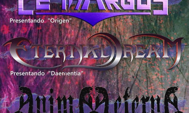 LETHARGUS + ANIMA AETERNA + ETERNAL DREAM actuarán en Madrid el 22 de febrero