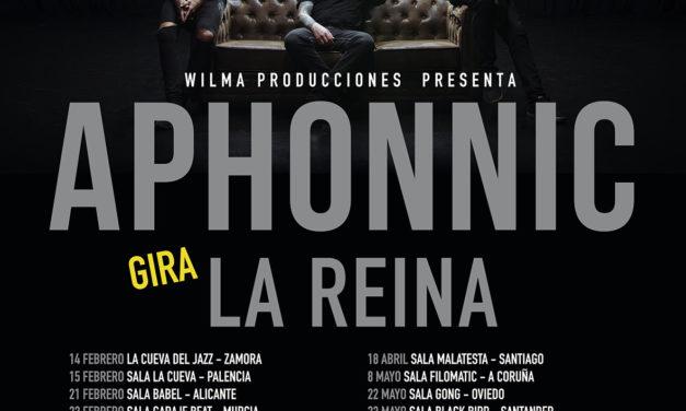 APHONNIC añade fechas a la gira de presentación de «La Reina» que comienza esta semana