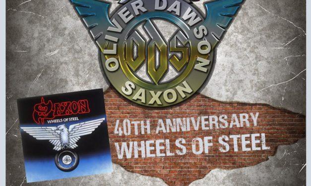 OLIVER/DAWSON SAXON nos visita con su gira «40TH Anniversary Wheel Of Steel Tour»