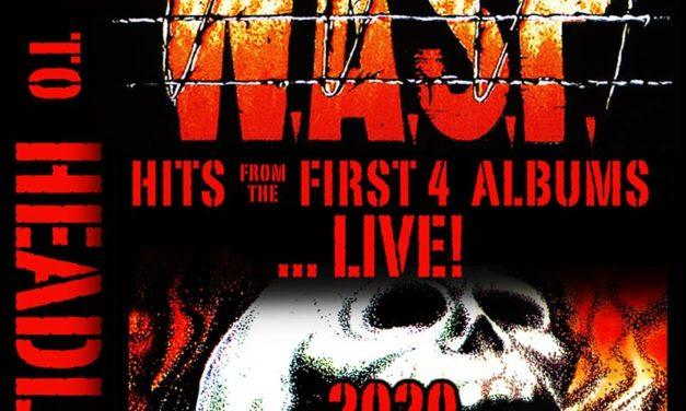 «1984 THE HEADLESS WORLD TOUR 2020» es la gira europea de W.A.S.P.
