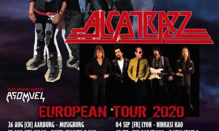 GIRLSCHOOL, ALCATRAZZ y ASOMVEL juntos en una gira europea en septiembre del 2020