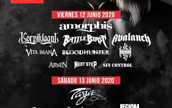 Distribución diaria de bandas para el Z! LIVE ROCK FEST