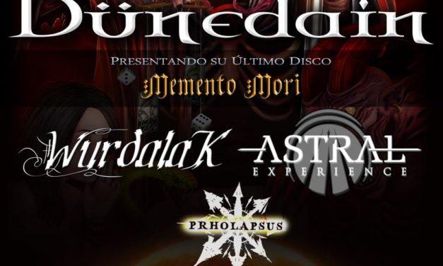 DÜNEDAIN actuará el 25 de abril en Valencia