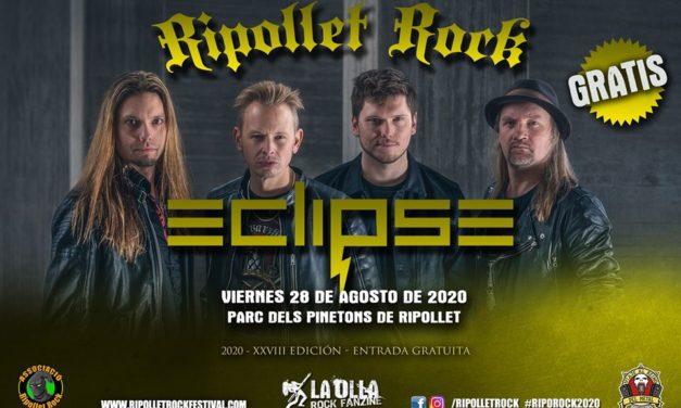 ECLIPSE será el cabeza de cartel del Ripollet Rock Festival 2020