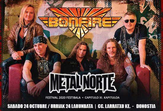 METAL NORTE FESTIVAL confirma su primera banda: BONFIRE