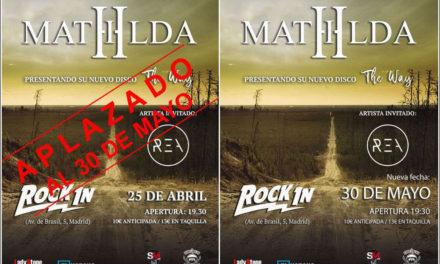 MATHILDA ya tiene nuevo disco y fecha de presentación en Madrid