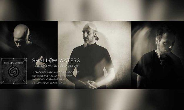 SHALLOW WATERS estrena otro adelanto de su debut «Bed Of Snakes»
