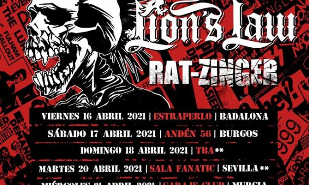 THE EXPLOITED girará por España en abril de 2021