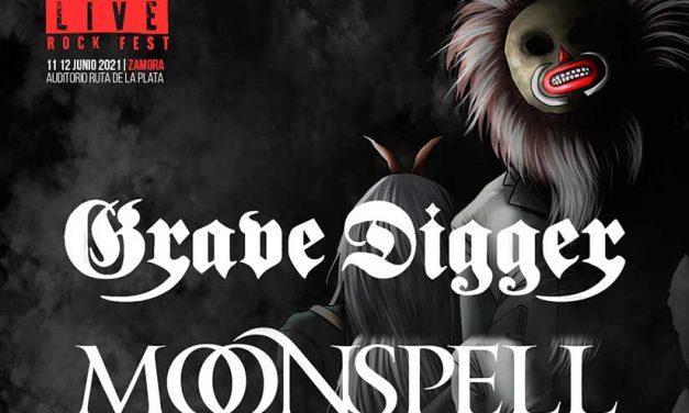 MOONSPELL y GRAVE DIGGER confirmados para el Z! LIVE ROCK FEST 2021