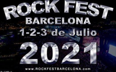 ROCK FEST BCN aplaza oficialmente su festival a los días 1, 2 y 3 de julio de 2021