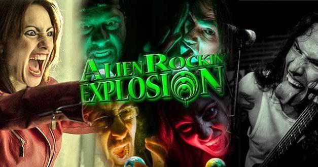 Lady Stone trae noticias sobre ALIEN ROCKIN' EXPLOSION, MATHILDA y PARALELUM