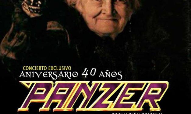Concierto exclusivo de PANZER por su 40 aniversario