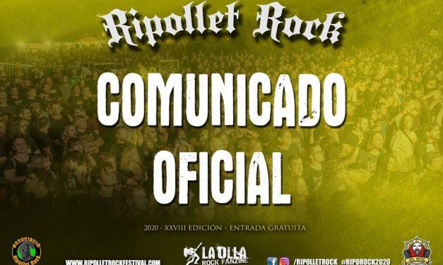 El festival RIPOLLET ROCK también aplaza su edición de este año para 2021