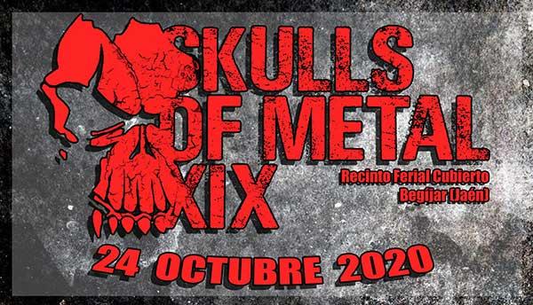 Cambios en el cartel del XIX SKULLS OF METAL
