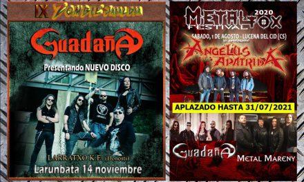 GUADAÑA presenta sus primeras fechas de conciertos